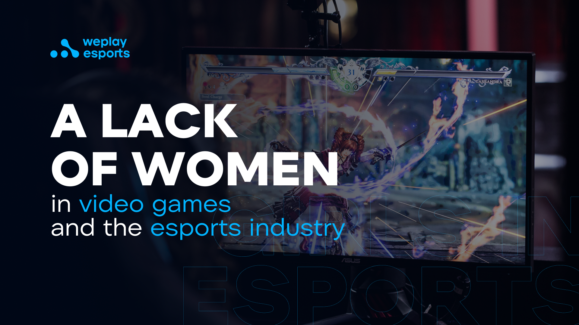 A lack of women in video games and the esports industry