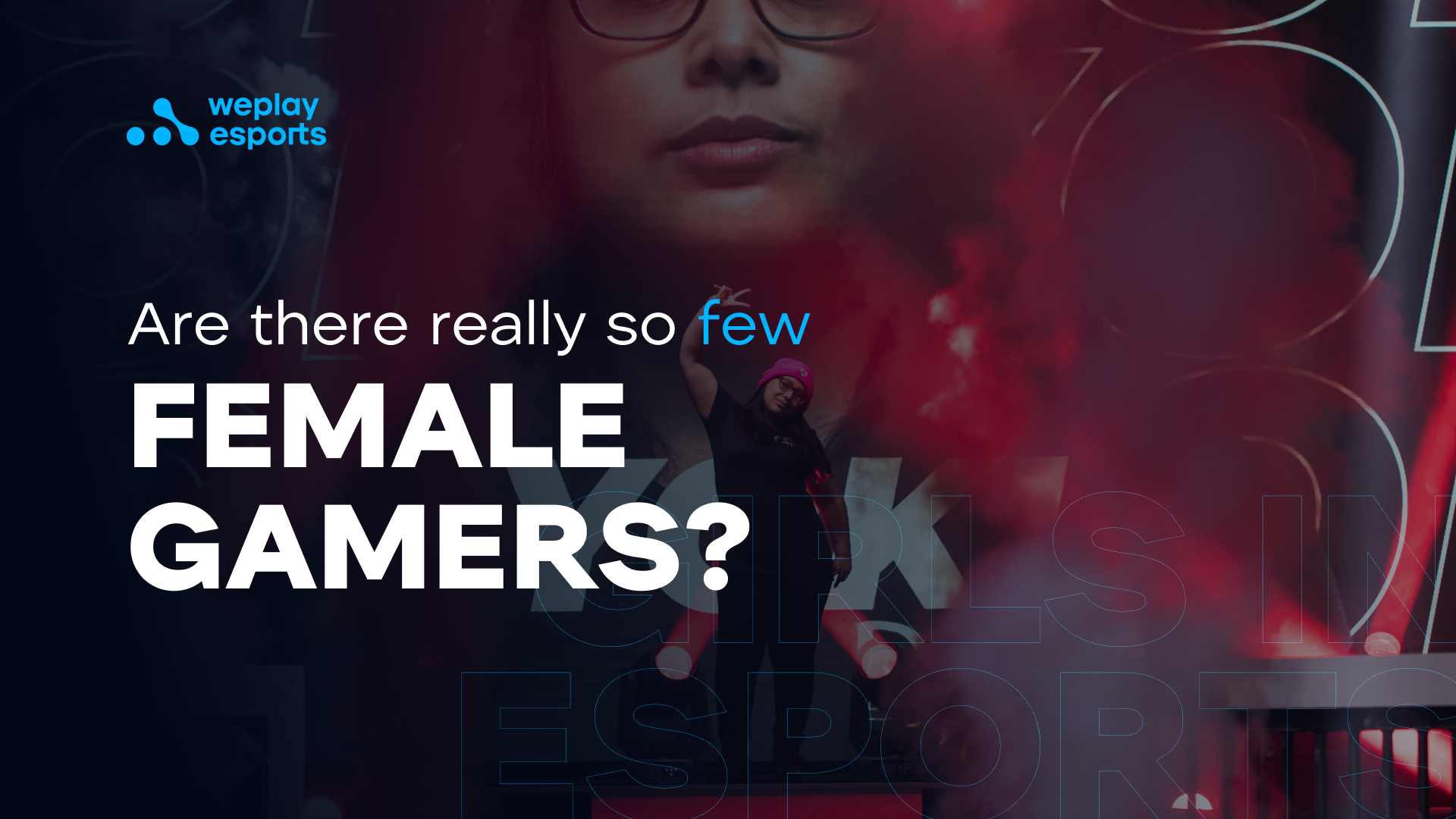 Are there really so few female gamers?