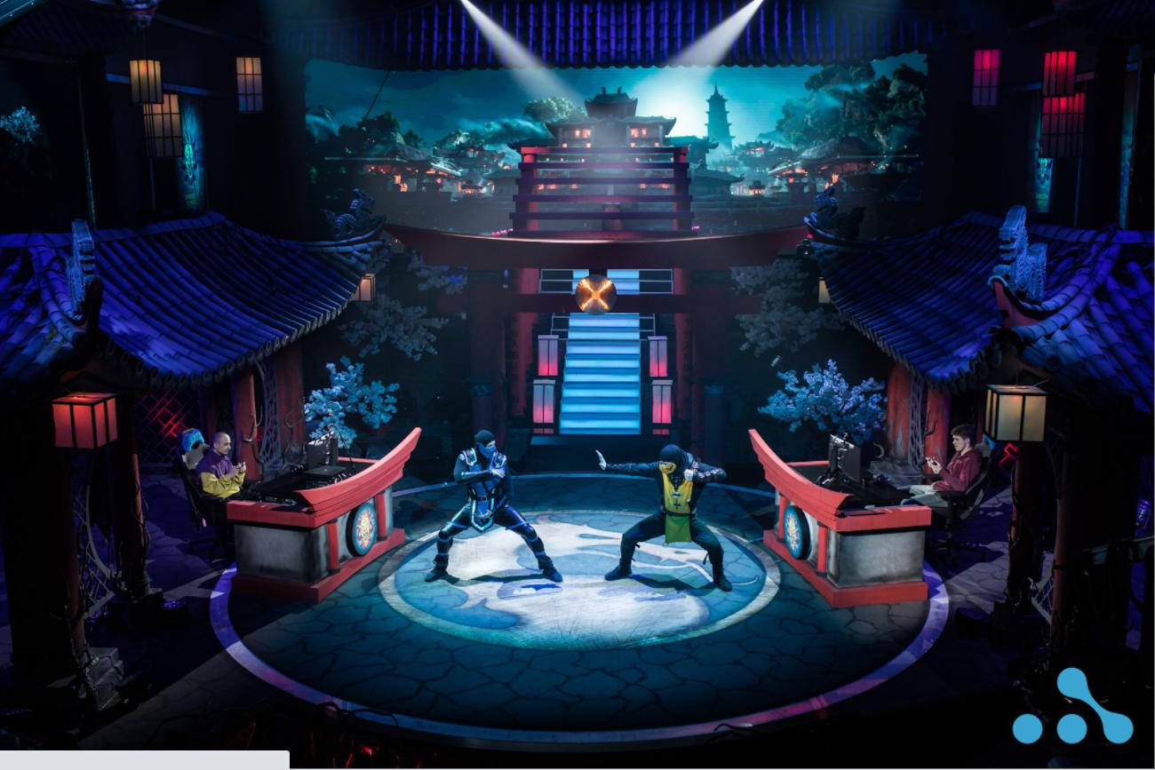 Турнир по Mortal Kombat 11, организованный WePlay Esports.