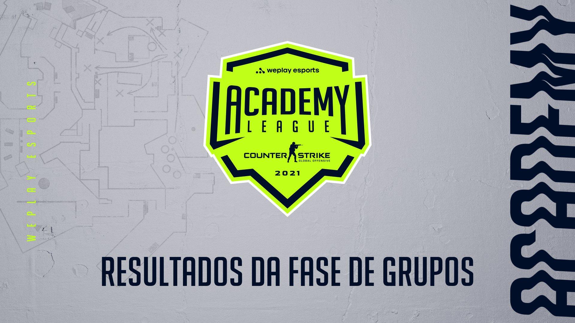 WePlay Academy League Season 2: resultados da fase de grupos. Imagem: WePlay Holding