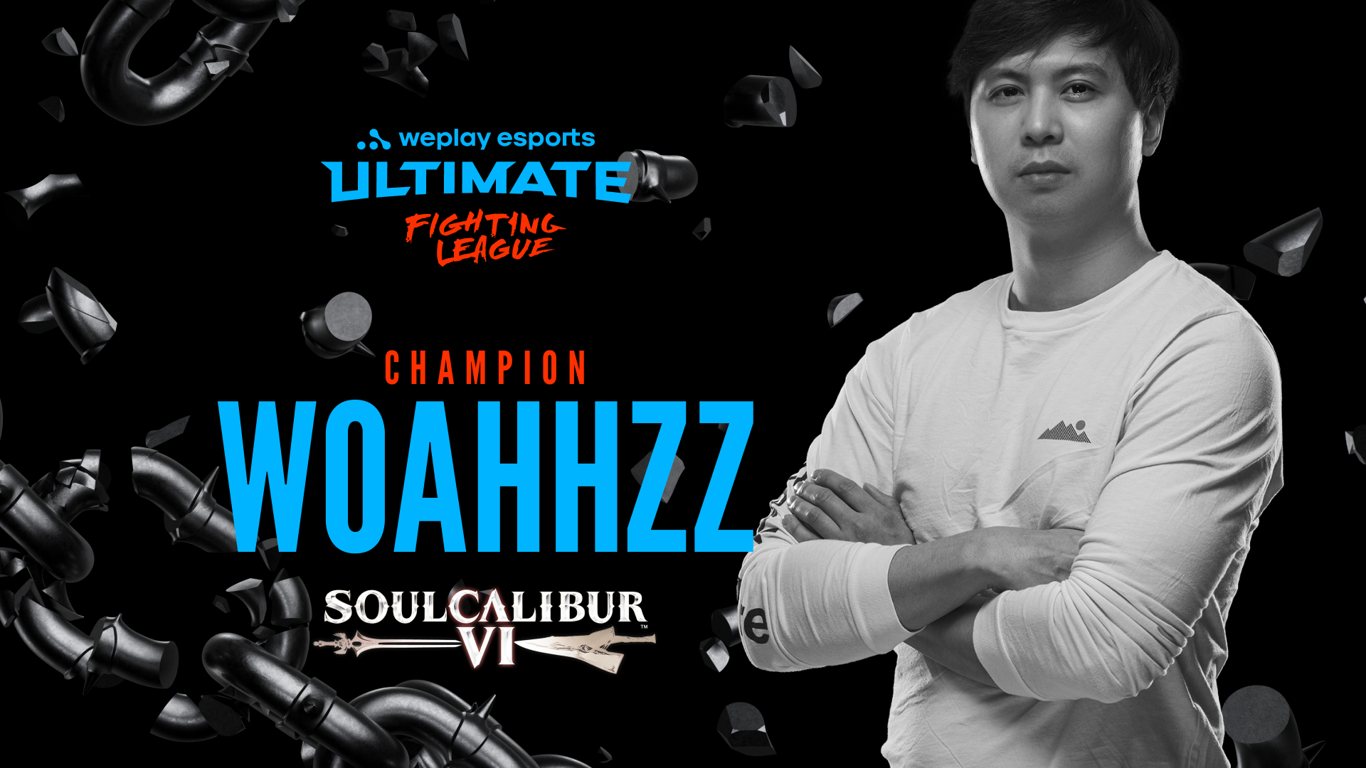 The winner of the WePlay Ultimate Fighting League SOULCALIBUR VI Event.