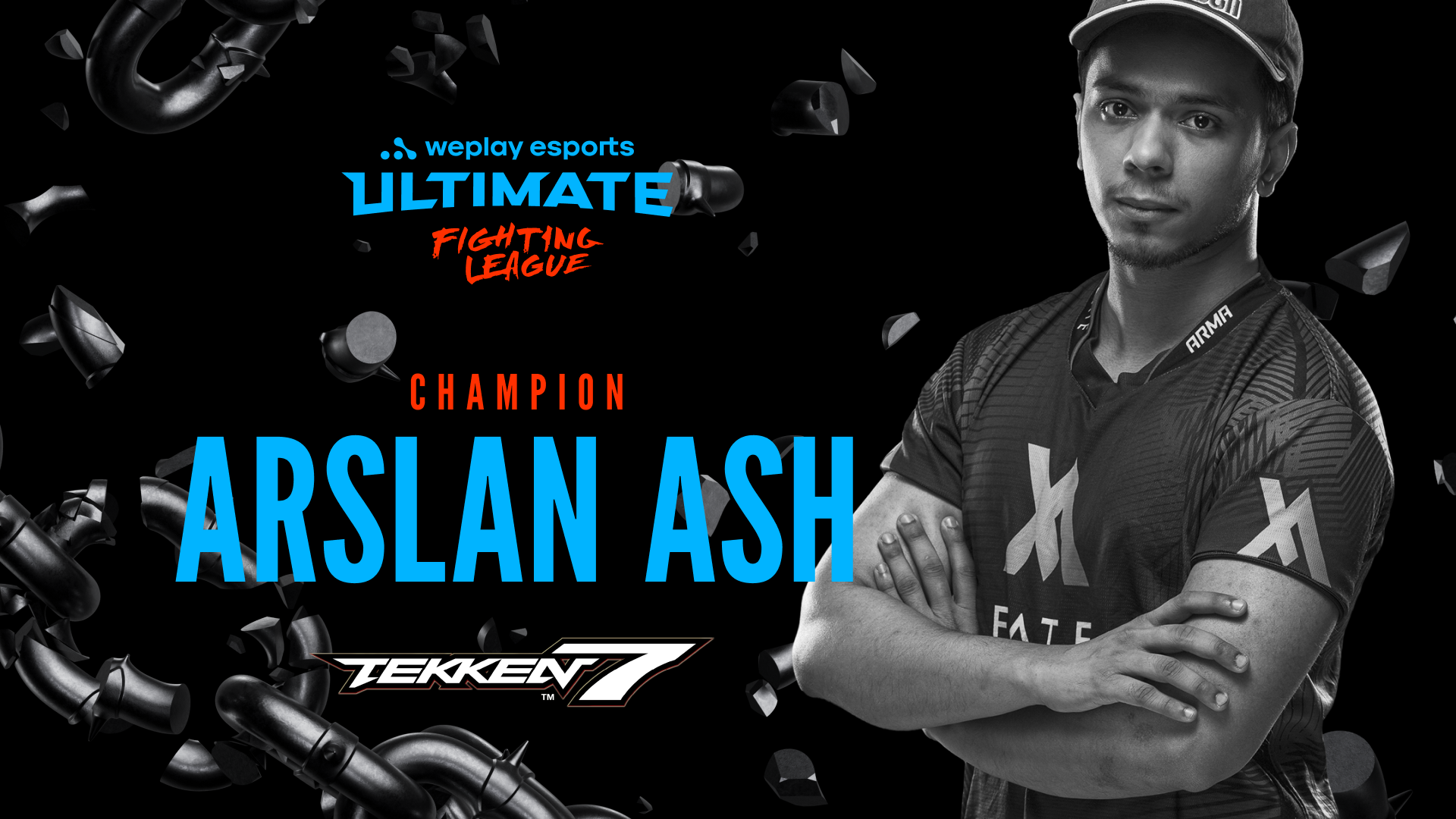 The winner of the WePlay Ultimate Fighting League Tekken 7
