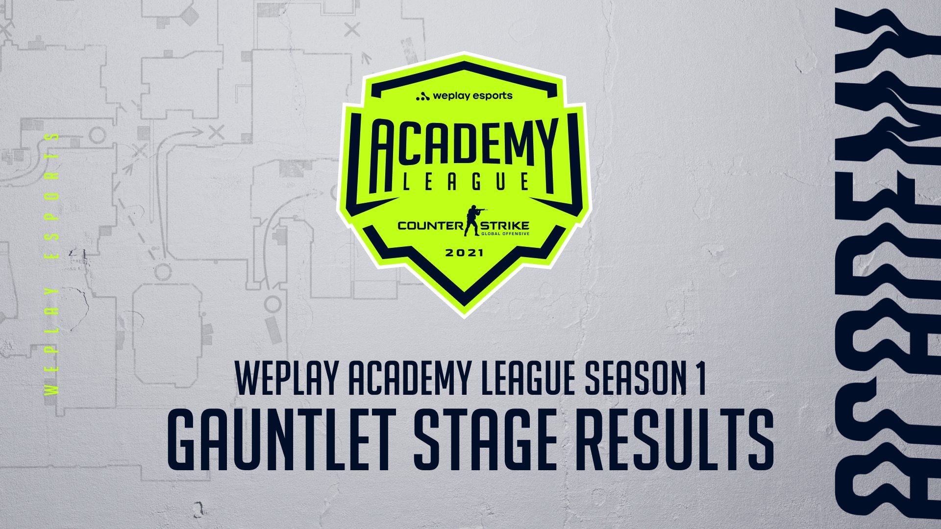 WePlay Academy League Season 1 Gauntlet Stage results. Image: WePlay Holding