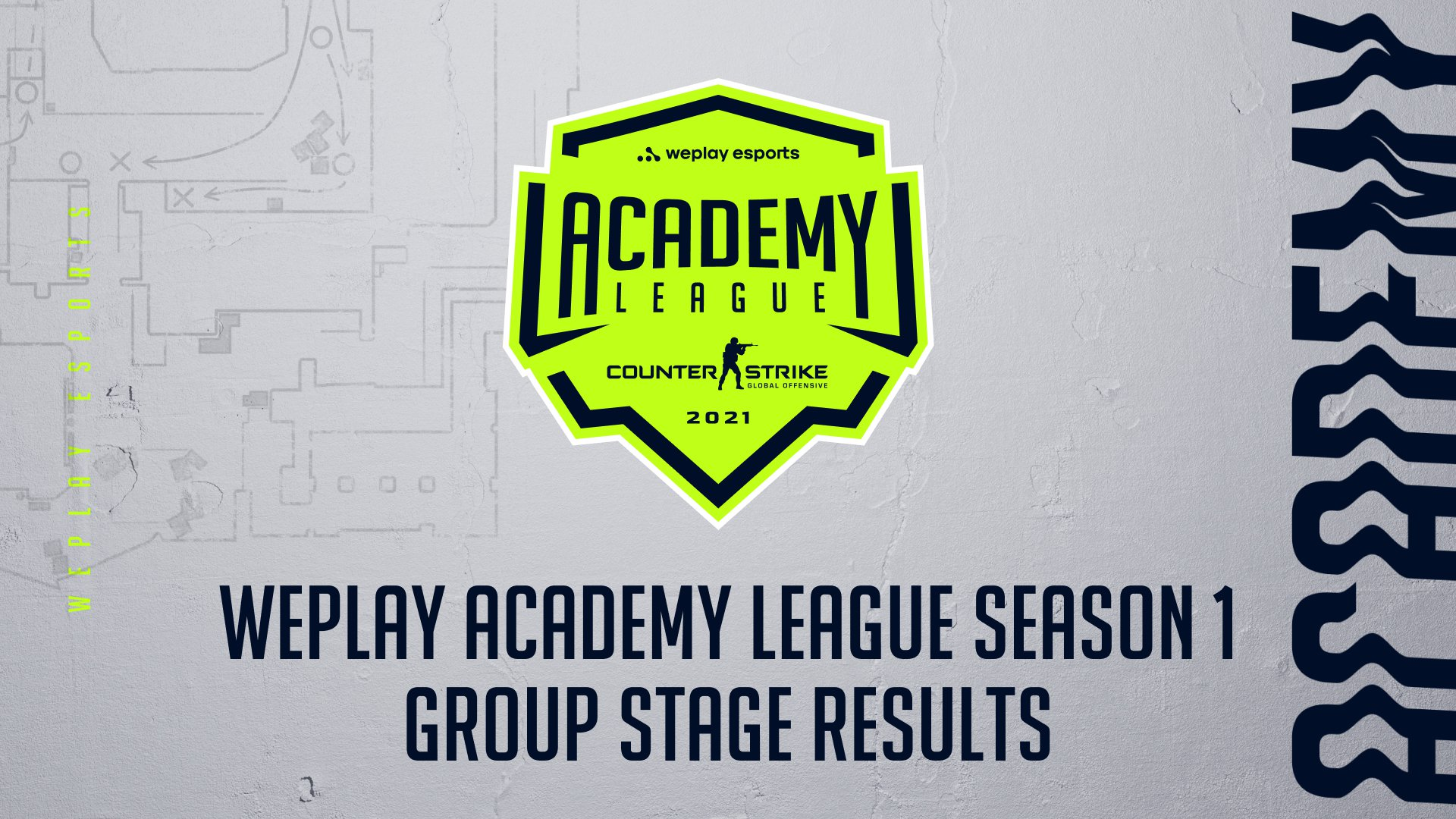 WePlay Academy League Season 1 Group Stage Results. Visual: WePlay Holding