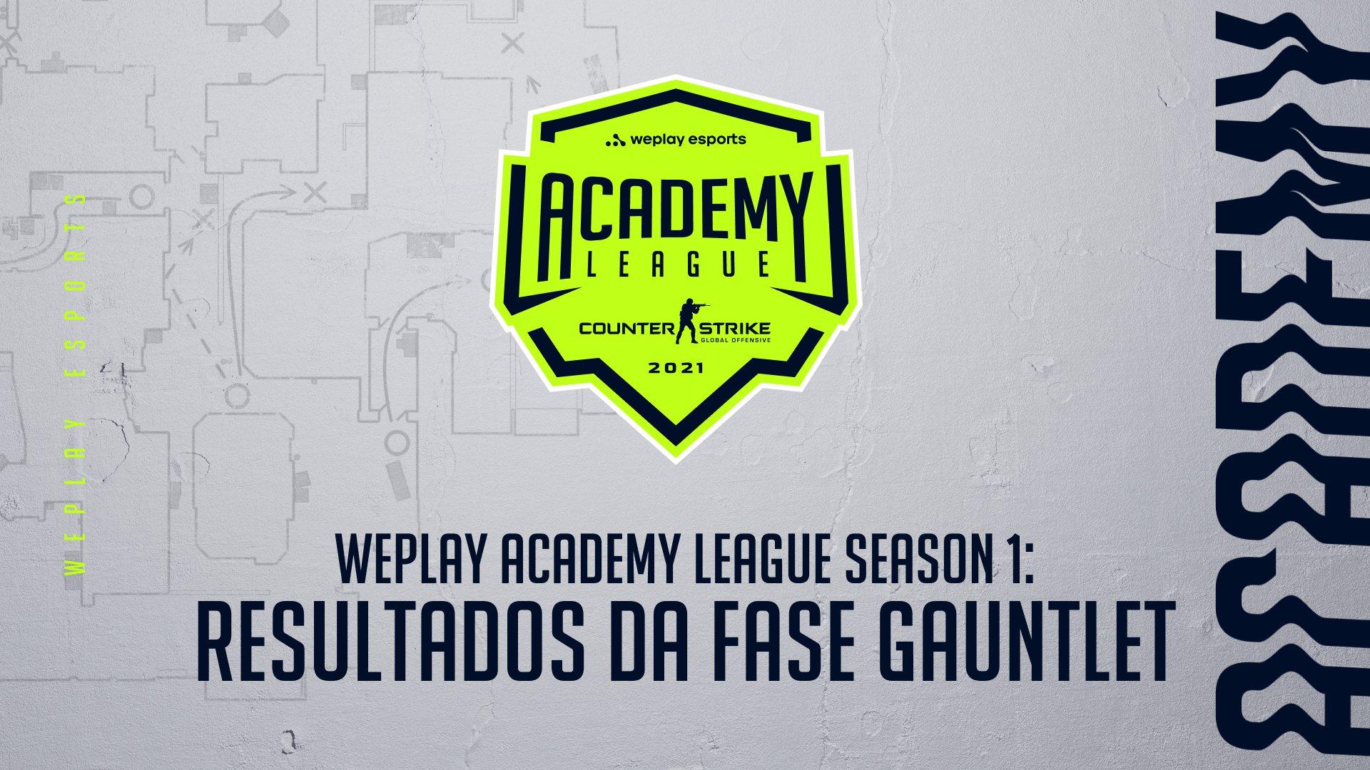 WePlay Academy League Season 1: Resultados da Fase Gauntlet. Imagem: WePlay Holding