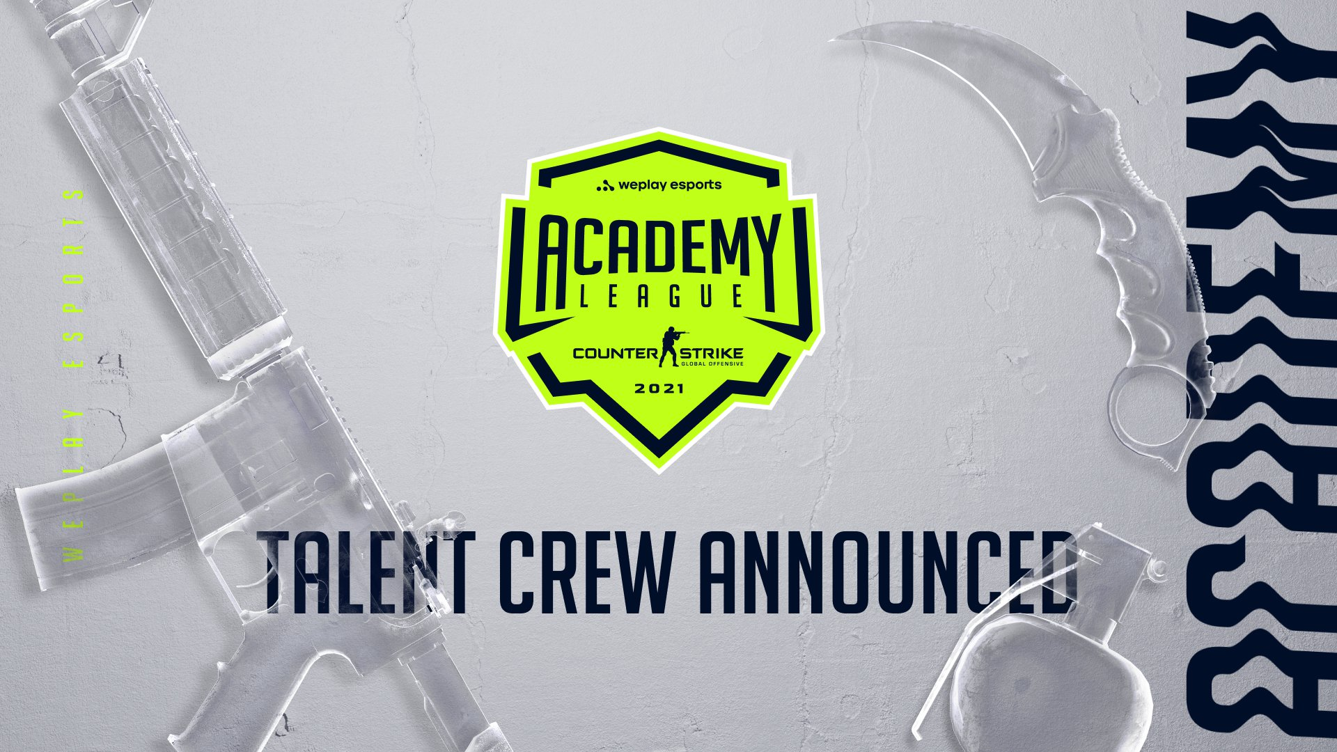 The talent crew of the WePlay Academy League Season 1. Image: WePlay Holding