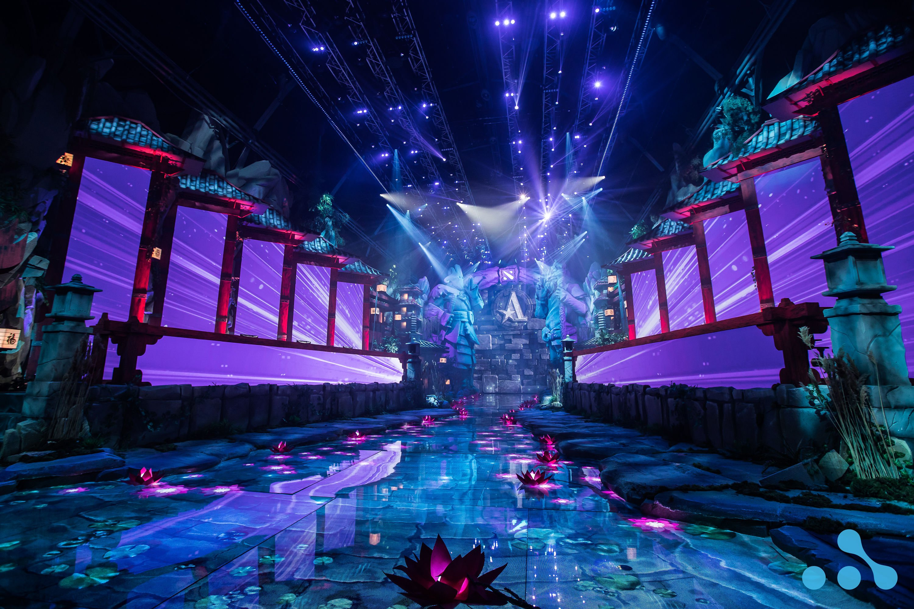 The stunning visuals from the WePlay AniMajor Playoffs stage! Photo: WePlay Holding