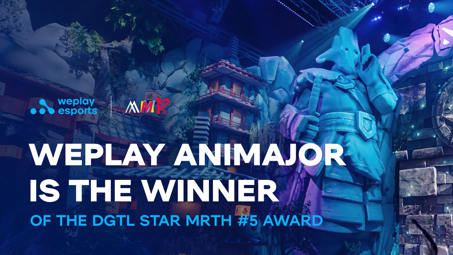 WePlay Holding is the winner of the DGTL STAR MRTH #5 award. Image: WePlay Holding