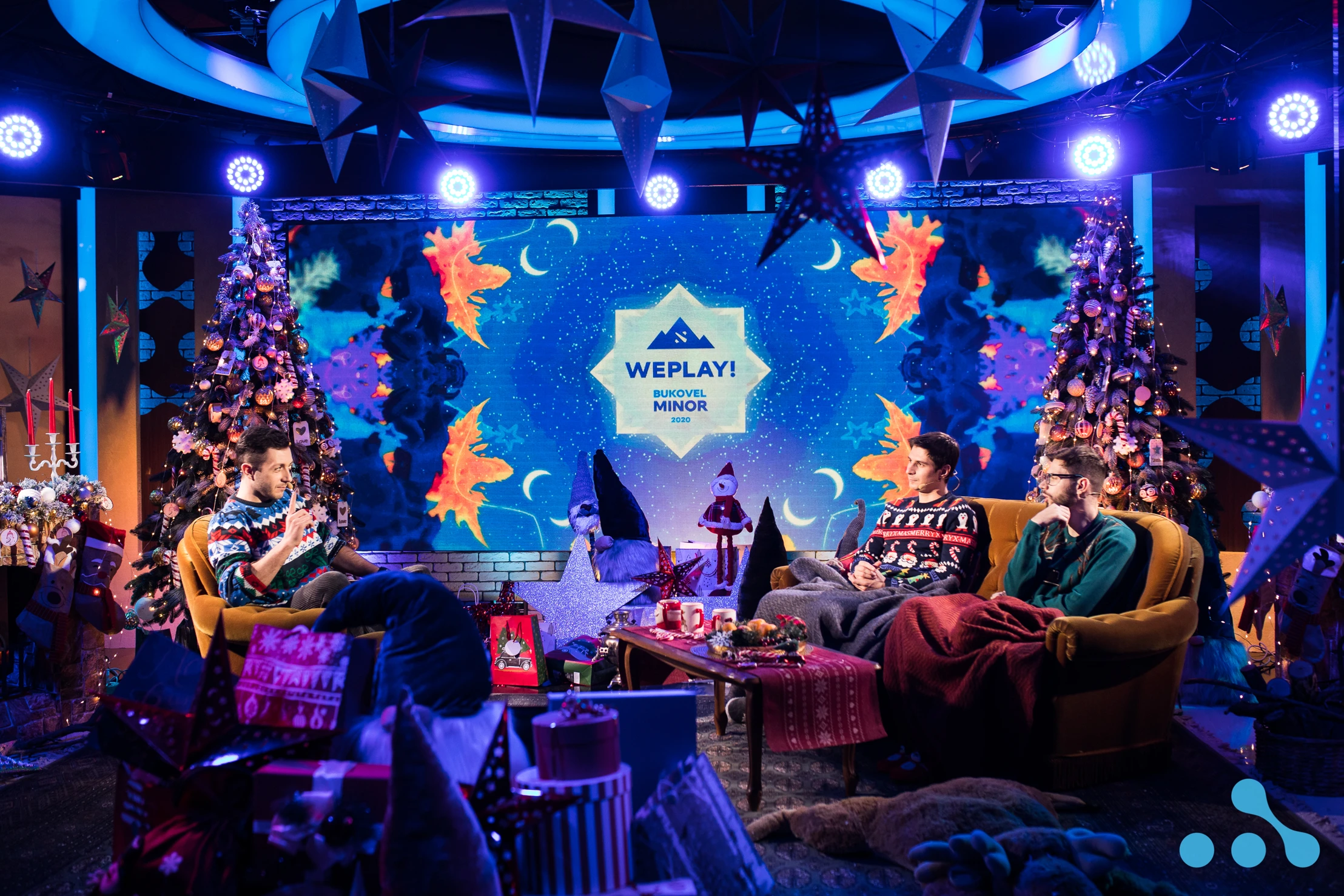 WePlay! Bukovel Minor 2020 Studio Setup for the Regional Qualifiers