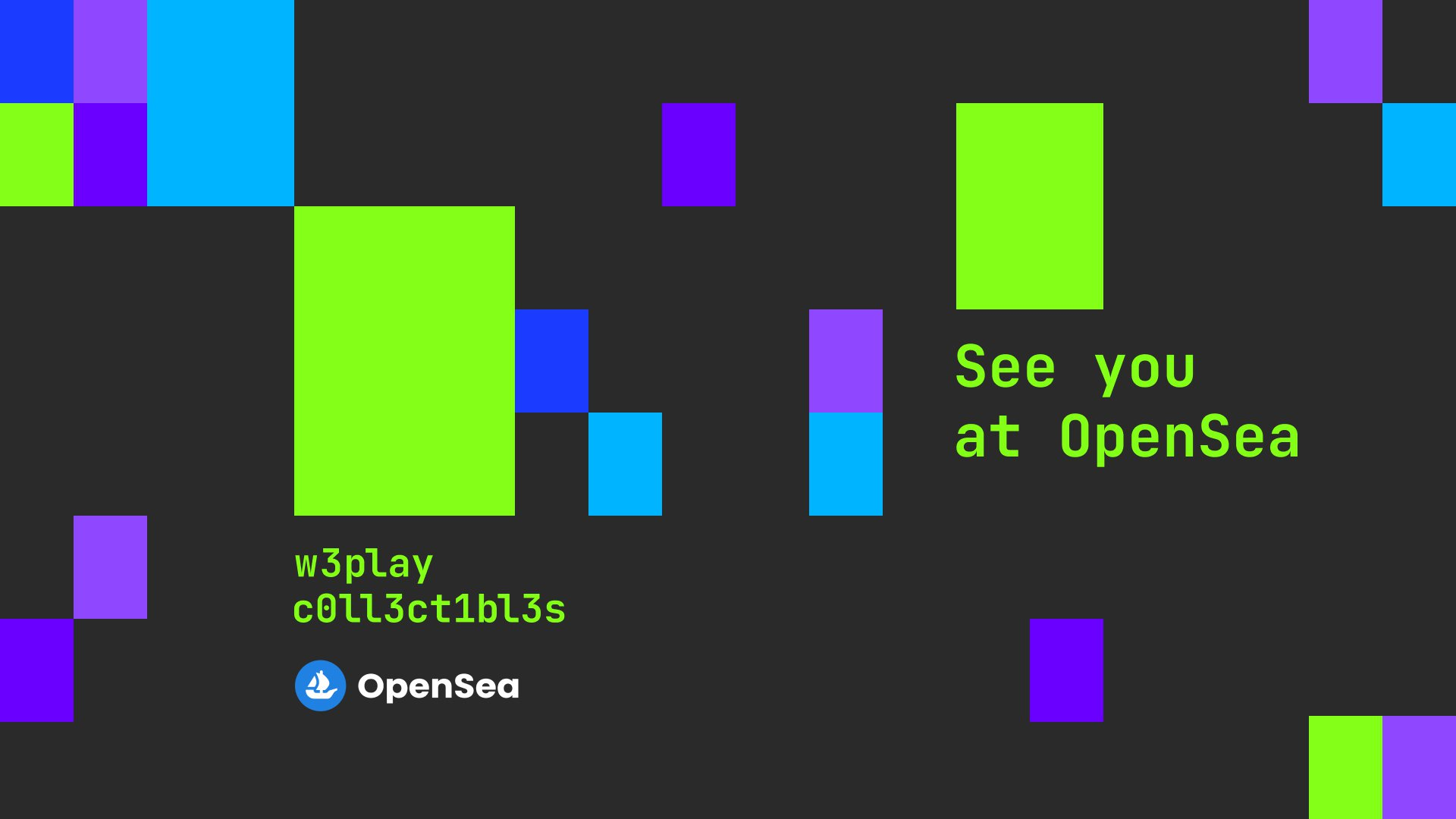 WePlay Collectibles: see you at OpenSea. Image: WePlay Holding