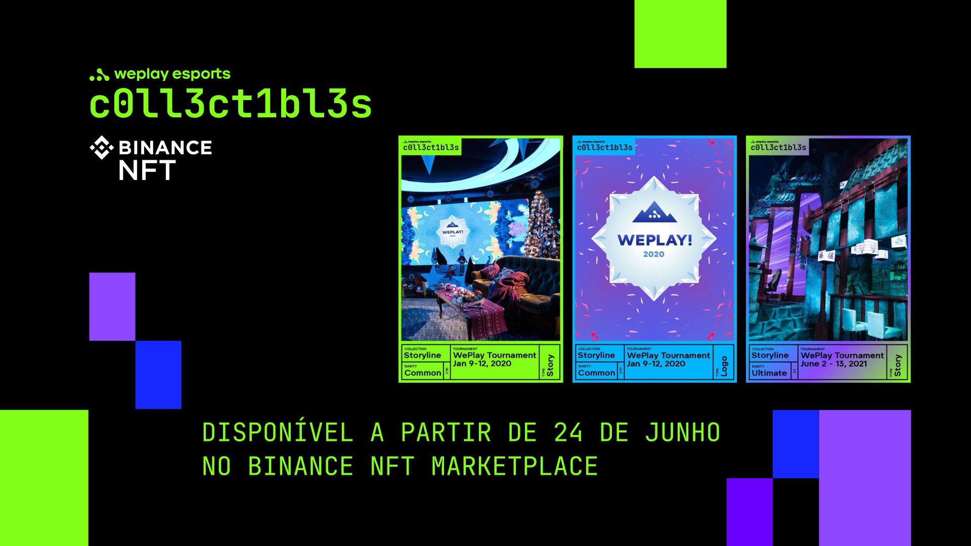 WePlay Collectibles: Olá, mundo! Imagem: WePlay Holding