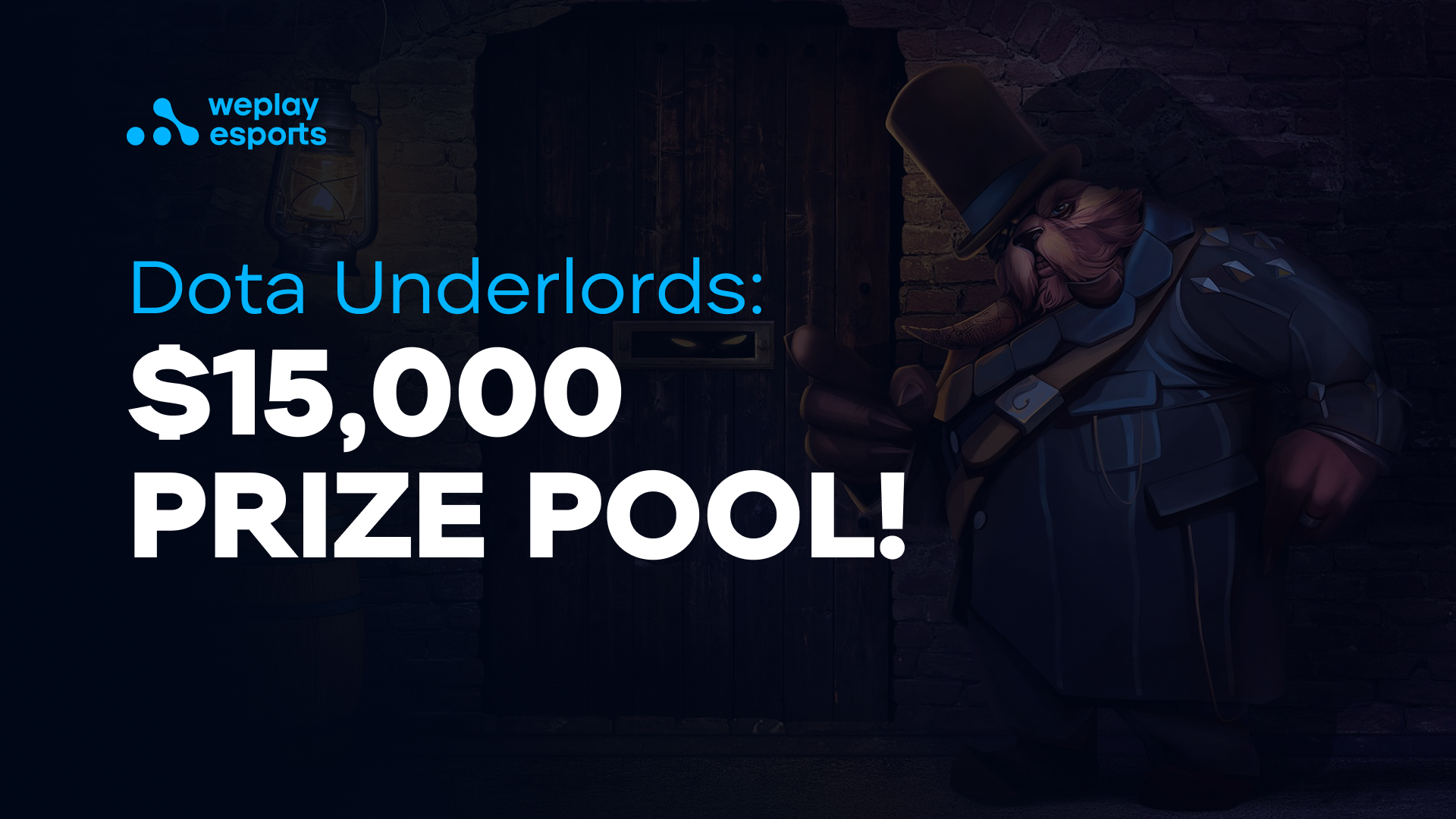 Dota Underlords tournament with a $15,000 prize pool