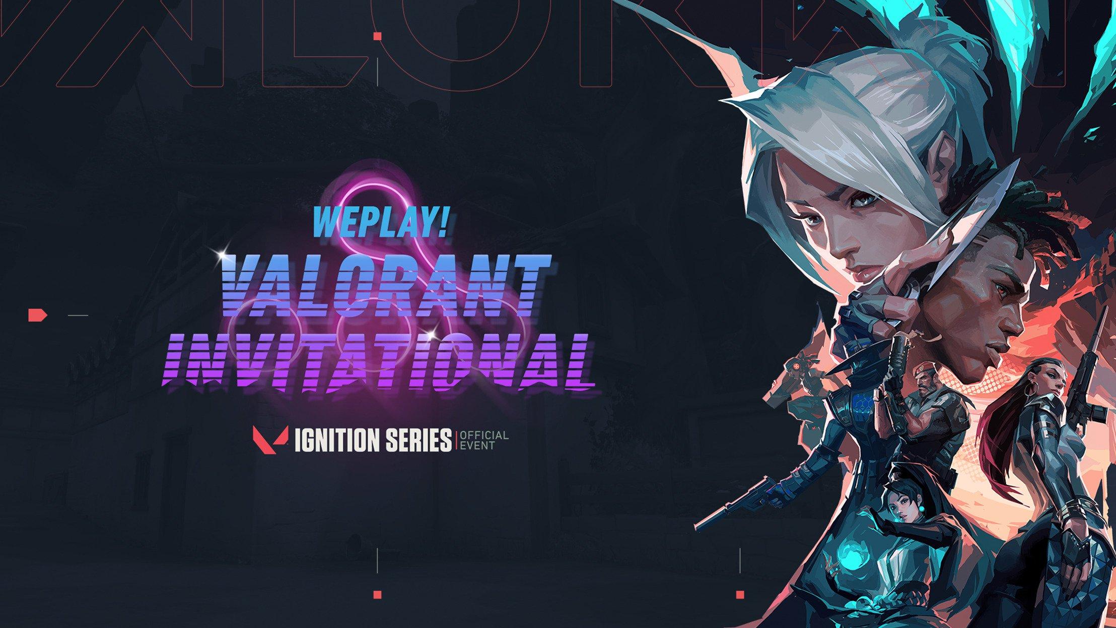 WePlay! VALORANT Invitational talents
