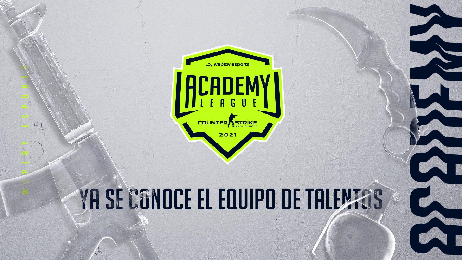 El equipo de talentos de la Temporada 1 de la WePlay Academy League. Imagen: WePlay Holding