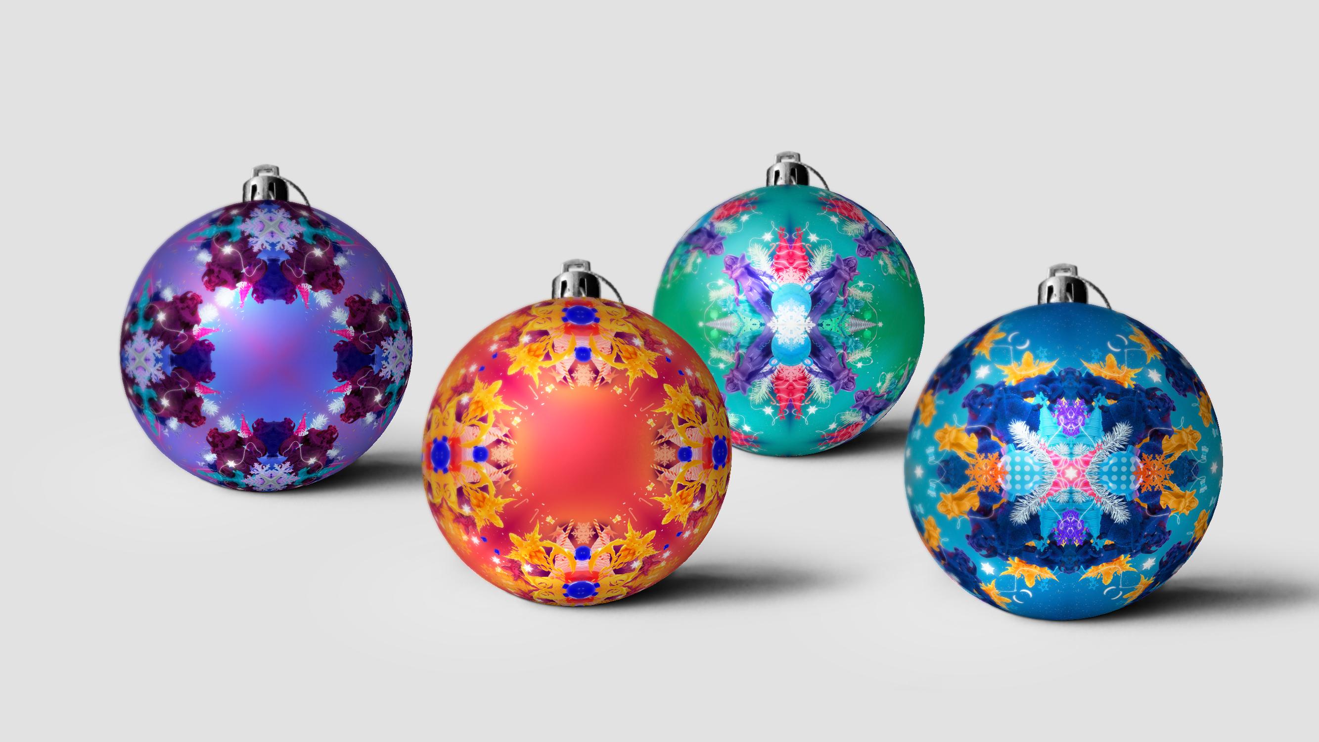 branding christmas ball