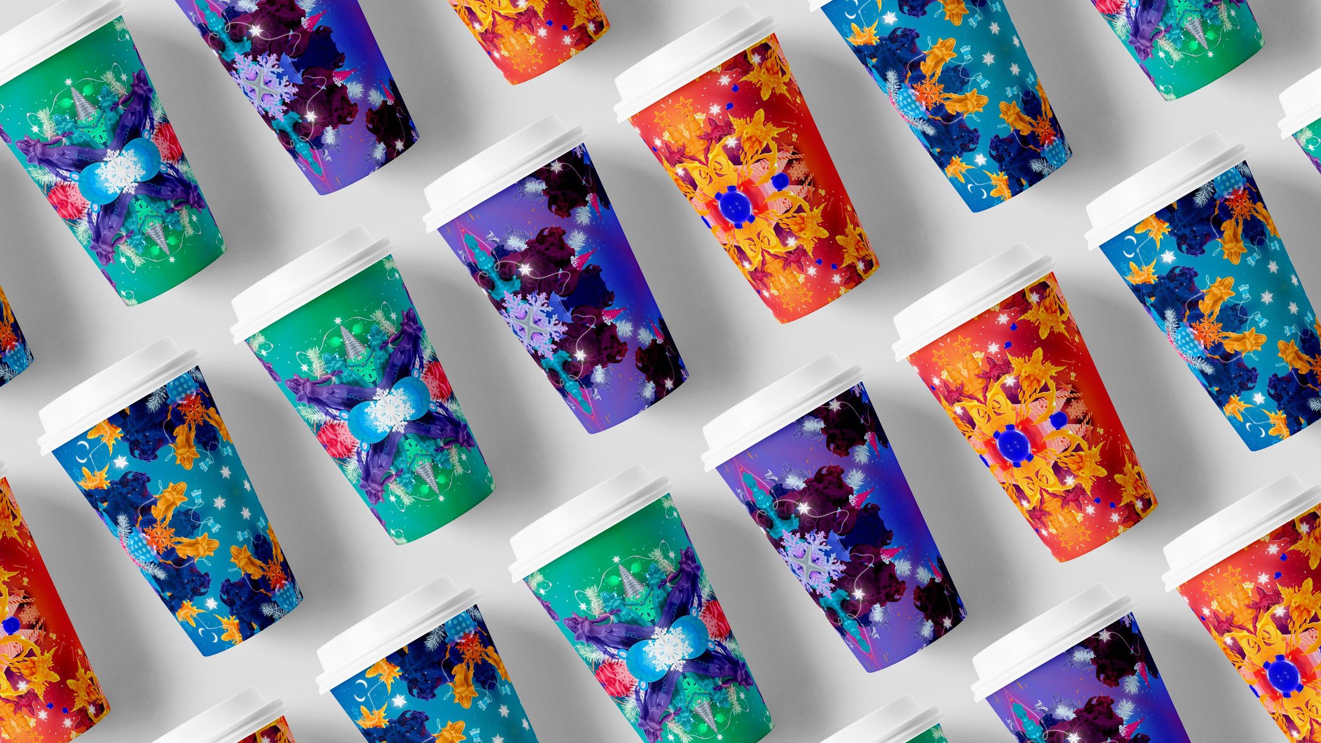 branding cups