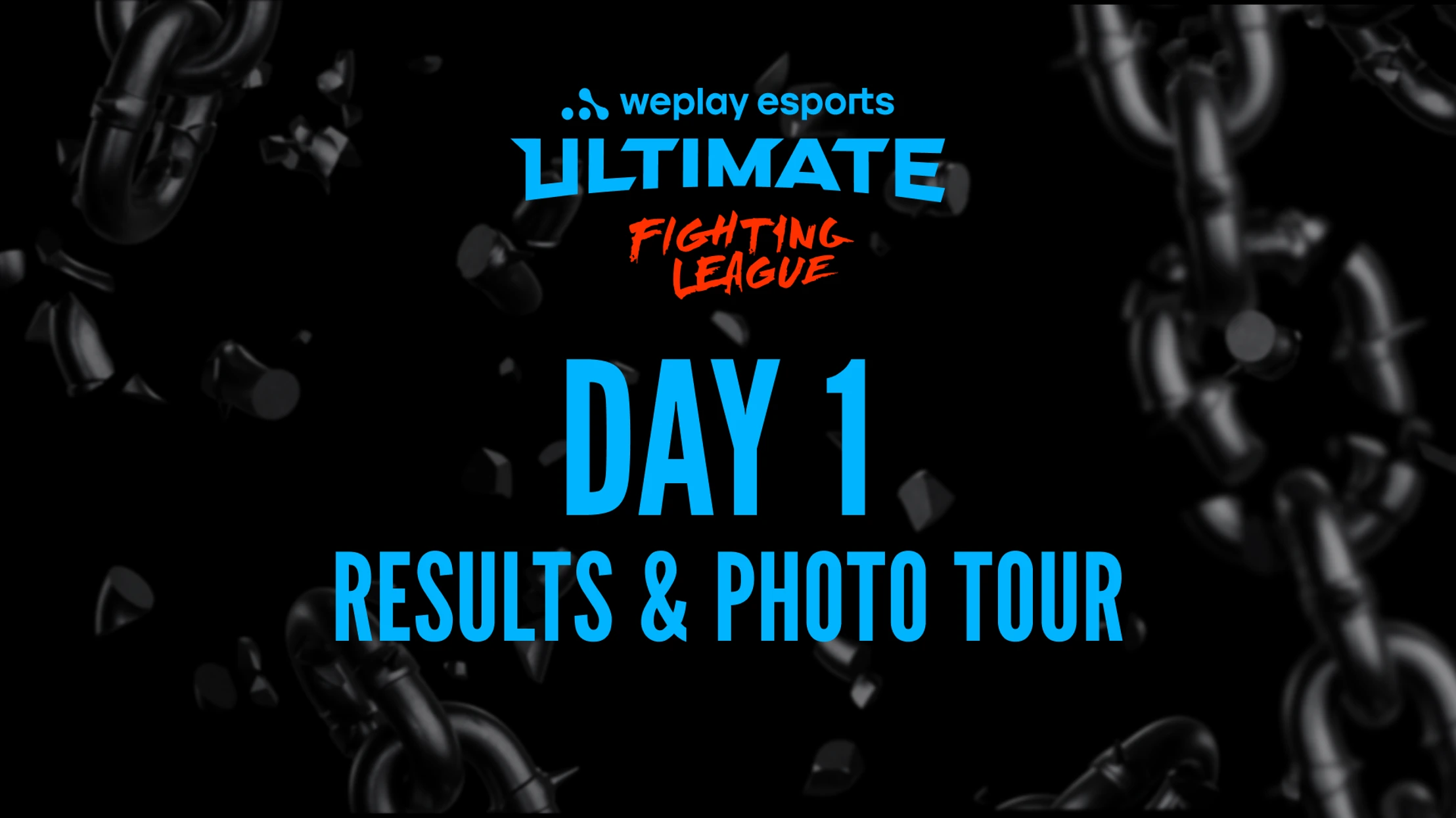 WePlay Ultimate Fighting League Season Day 1 results and Photo Tour