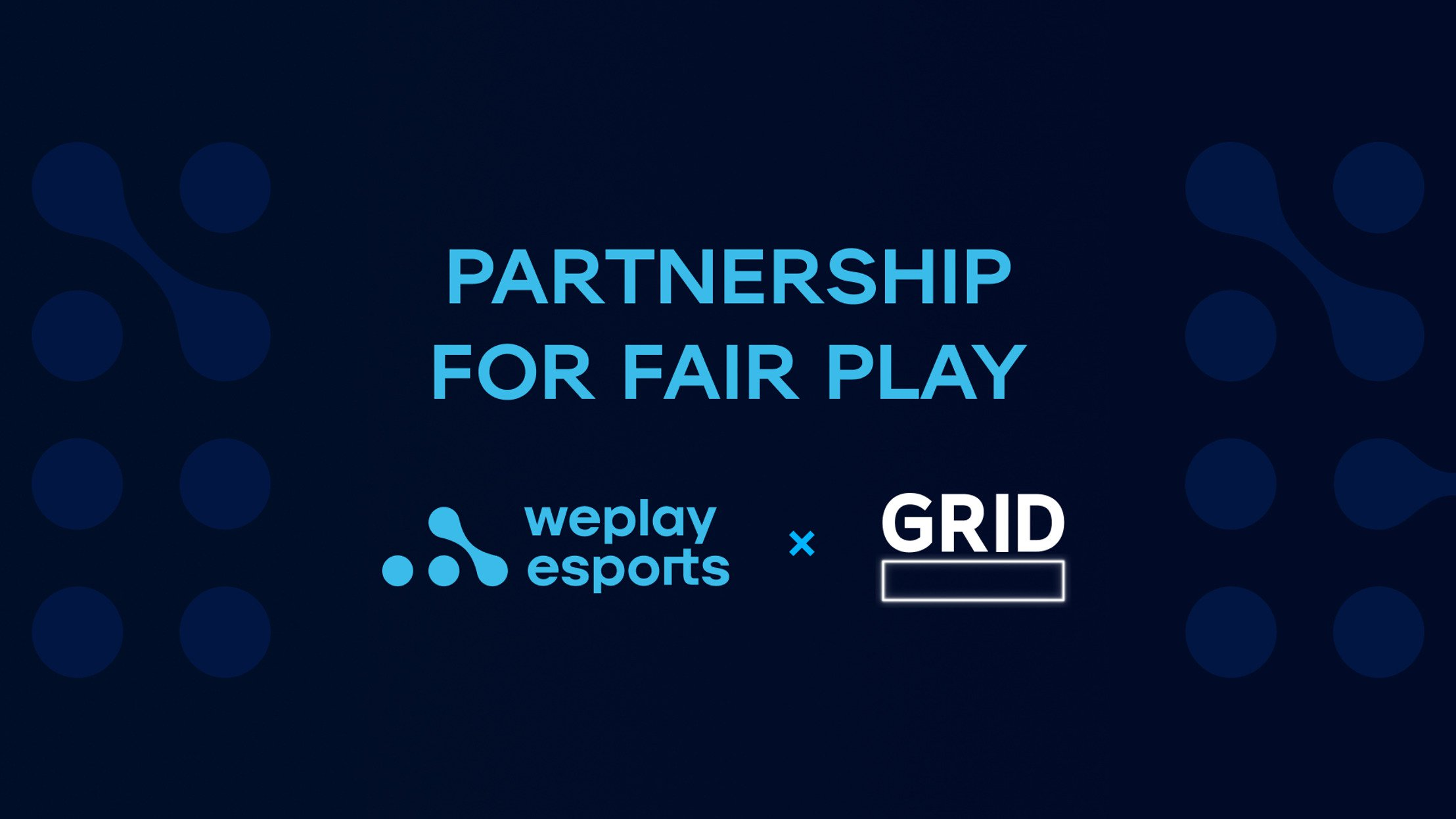 WePlay Esports and GRID: partnership for fair play