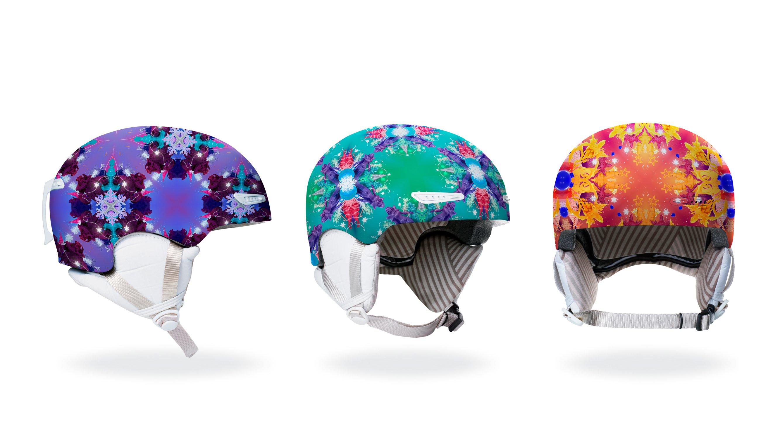 branding helmet