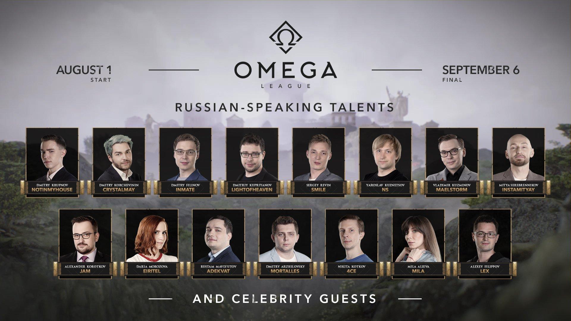 Russian speaking talents