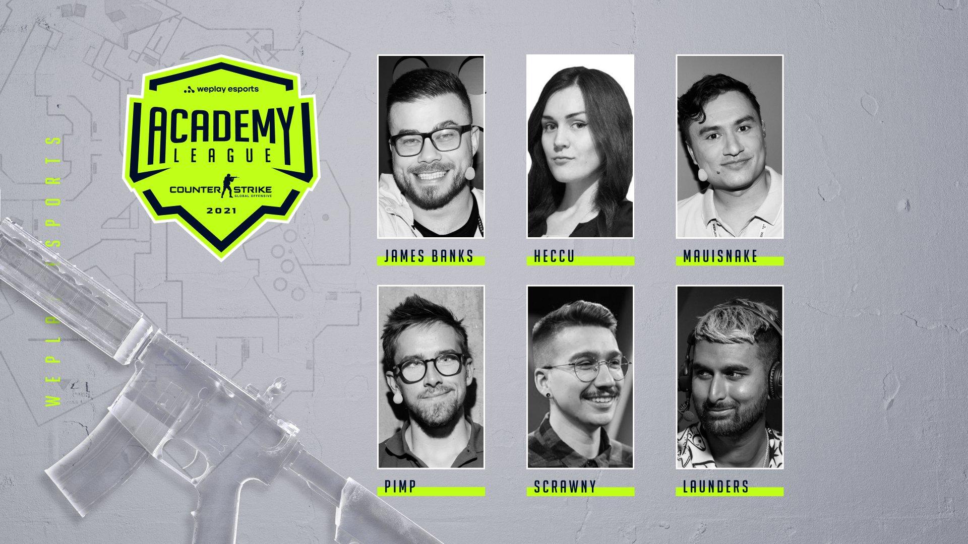 Англоговорящая команда талантов WePlay Academy League Season 2. Изображение: WePlay Holding