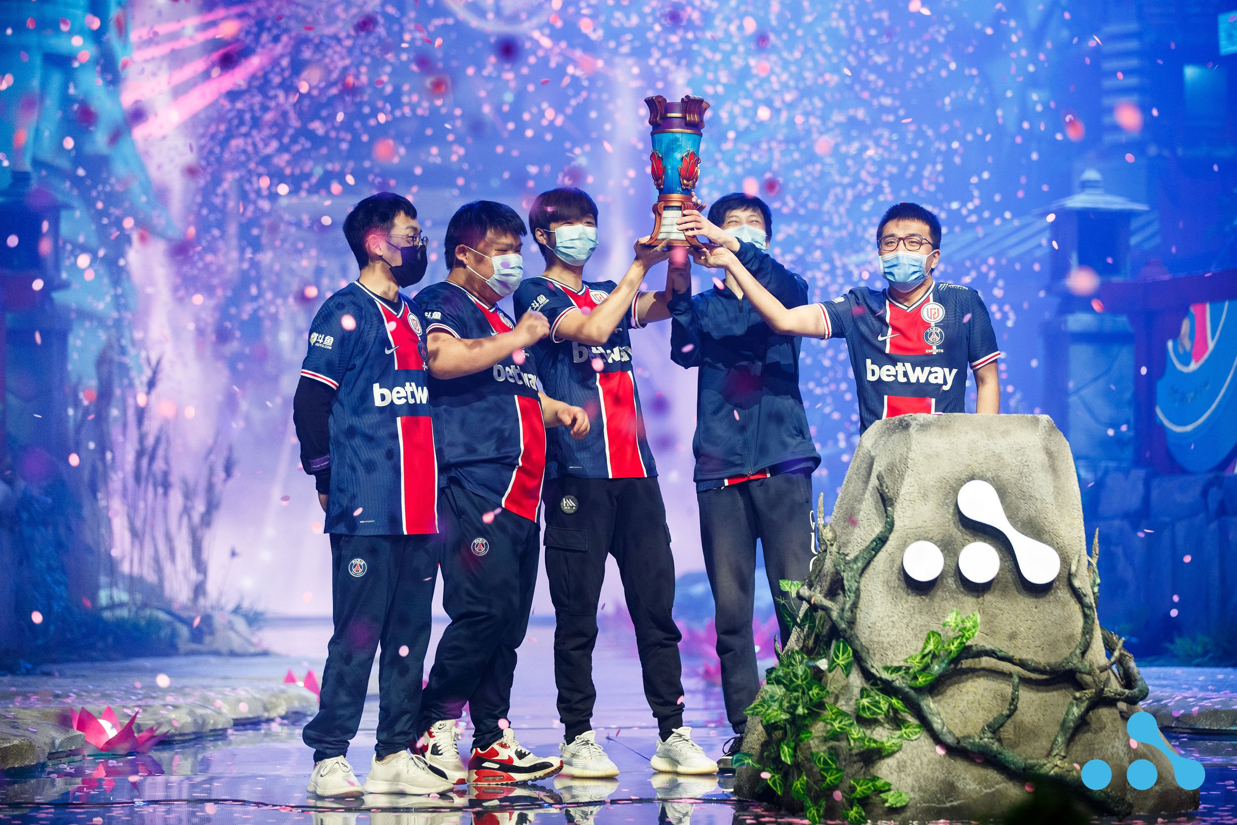 Congratulations to PSG.LGD for winning WePlay AniMajor! Photo: WePlay Holding