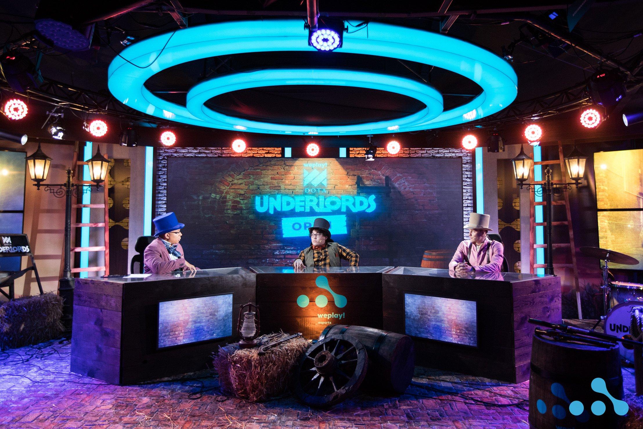 WePlay! Dota Underlords Open: — photos of WePlay! Esports studio