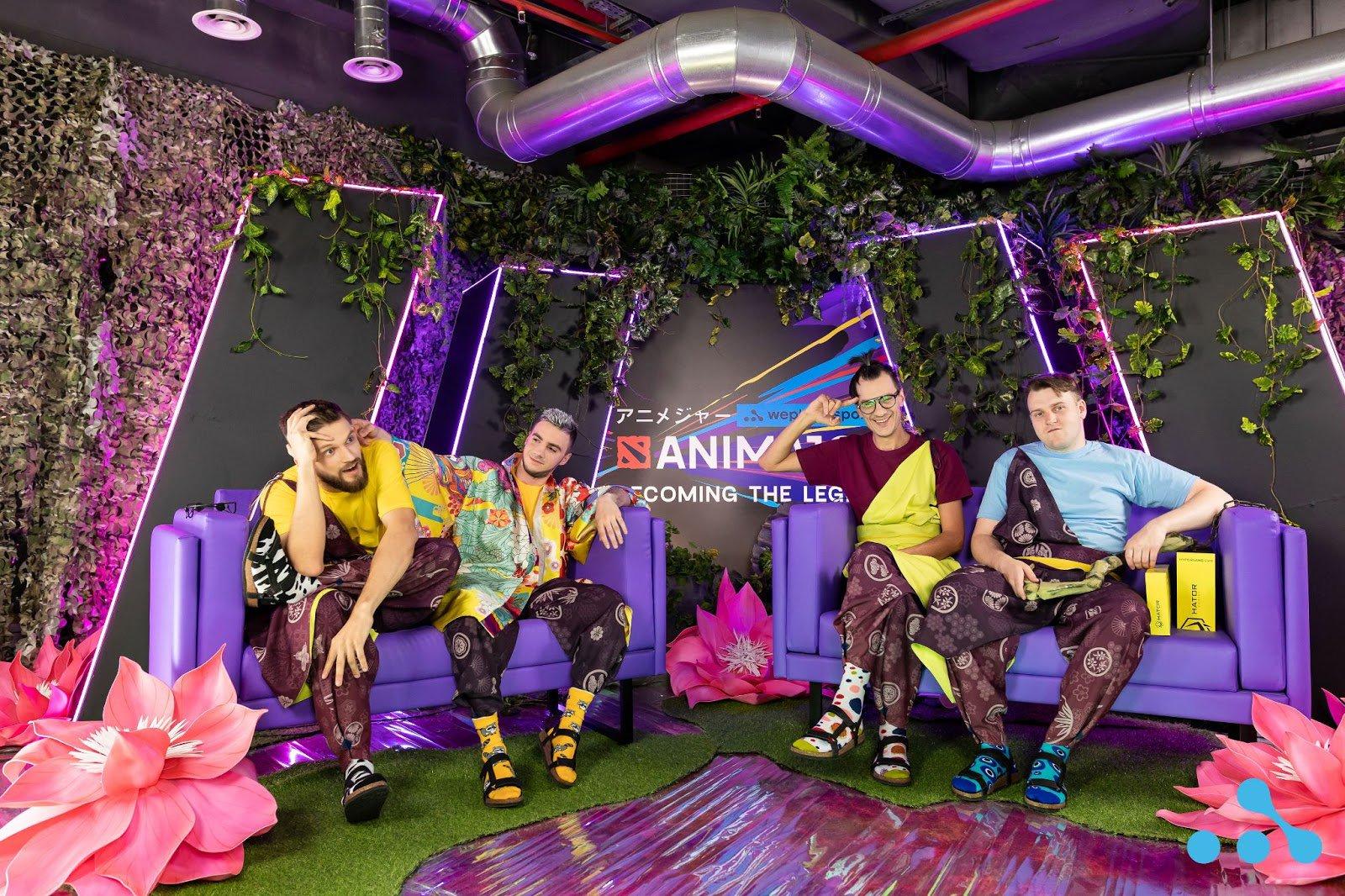 The Ukrainian broadcast talents of WePlay AniMajor