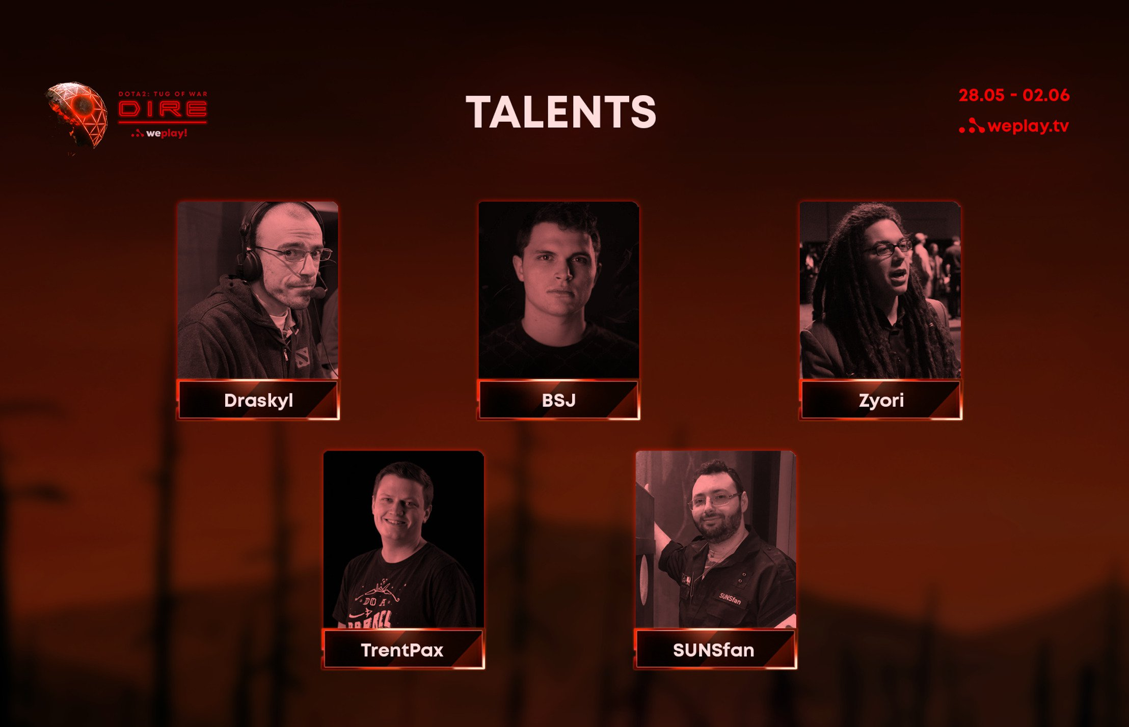 WePlay! Tug of War: Dire international talent crew announcement